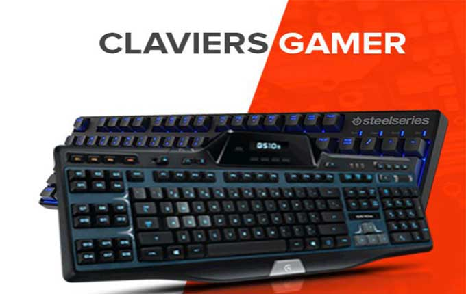 claviers gamers